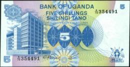 UGANDA - 5 Shillings Nd.(1979) UNC P.10 - Uganda
