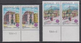 Europa Cept 1990 Monaco 2v Pair (+MARGIN)  ** Mnh (44687B) - 1990