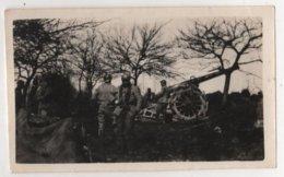 ABAA Photo Originale Militaria WWI Albert Bertrand Artillerie 1915  Canon Bois De La Lampe Regnieville Fey En Haye - Guerre, Militaire