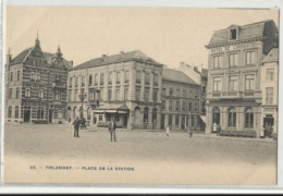 Tirlemont - Tienen - Place De La Station (Bertels Nr 23) - Tienen