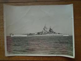 Grande Photo ( 23 X 17 ) De Batiments De Guerre ( Prise à Toulon ) - Barche