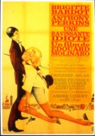 "CPM. > Cinema > Affiches Sur Carte > Brigitte BARDOT - "" Une Ravissante Idiote 1964 "" - TBE - Posters On Cards"