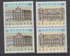 Europa Cept 1990 Switzerland 2v (pair) ** Mnh (44687C) - 1990