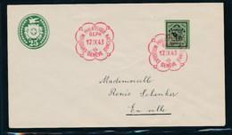 Schweiz Blockmarke A. Brief-FDC    (oo9809  ) Siehe Scan - Suisse