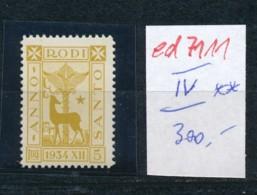 Ägis- Nr.  IV   **     (ed7111  ) Siehe Scan - Aegean