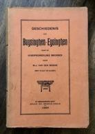 Geschiedenis Van Buysinghen-Eysinghen - Met Kaart - 1929 - Buizingen - Eizingen - Vlaams Brabant - Histoire
