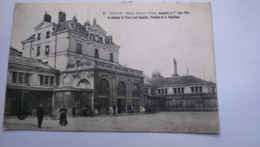Carte Postale ( Y8 ) Ancienne De Dijon , Gare Dijon Ville - Dijon