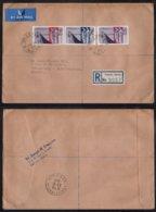 MALTE - MALTA - VALLLETTA / 1965 LETTRE RECOMMANDEE AVION POUR LA FRANCE (ref 6817) - Malte