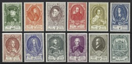 D11 - Belgium - 1952 - OBP 880/891 MNH - UPU - Nrs 883, 885 & 888 Zeer Licht Roestplekje In Tanding - Belgien