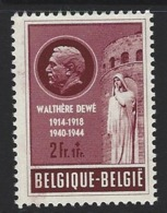 D11 - Belgium - 1953 - OBP 908 MNH - Walthère Dewé - Nuevos