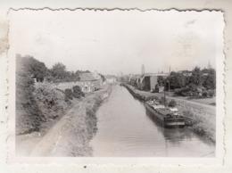 L' Escaut Près Du Pont Soyer à Tournai - Péniche - Photo 6.5 X 8.5 Cm - Bateaux