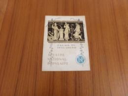 Programme Palais Du Trocadéro, TNP , Saison 1924-1925 - Programmes