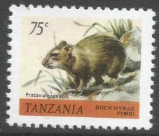Tanzania. 1980 Wildlife. 75c MNH. SG 311 - Tanzania (1964-...)