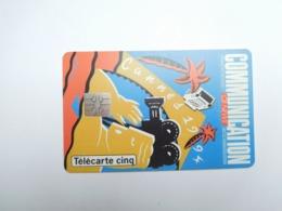 Télécarte Privée , 5U , Communication CB News Cannes 1994 , Gn36a , Cote : 30 Euros - Frankreich