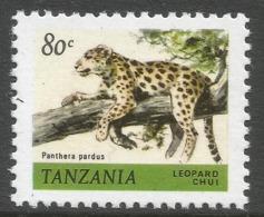 Tanzania. 1980 Wildlife. 80c MNH. SG 312 - Tanzania (1964-...)