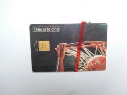Télécarte Privée , 5U , Basket , Gn42 , Cote : 22 Euros , Sous Blister - Francia