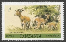 Tanzania. 1980 Wildlife. 1/- MNH. SG 313 - Tanzania (1964-...)