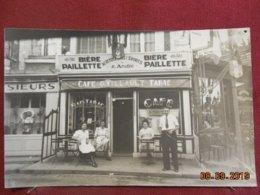 Photo De Format CPA - Deauville ? - Café-Tabac P. Tillault - Lieux