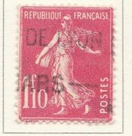 PIA - FRA - 1926-27 : Francobollo Precedente Tipo Seminatrice Su Fondo Pieno   - (Yv 238) - 1906-38 Semeuse Camée