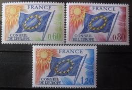 FRANCE Service Série N°46 Au 48 Neuf ** - Timbres