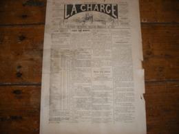 - JOURNAL, LA CHARGE De 1889, 2 Pages, Déchirure à Gauche, Complet. - Periódicos