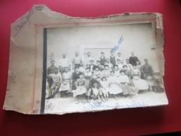USINE JACOTET Photographie-Photo Originale Photos OUVRIERS COLLABORATEURS Cadre Carton Mauvais état Photo Intacte - Photos