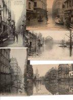 Lot De 20 CPA-CPSM- Que Des Petits Formats - Inondations De PARIS - 5 - 99 Postales