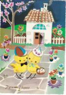 L32d490 - Joyeuse Pâques - Dessin De Galbi - Saemee N°S/361 - Easter
