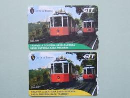 Biglietti Tramvia Superga Torino GTT, Italia, Tramways A Cremagliera  (B_31) - Tramways