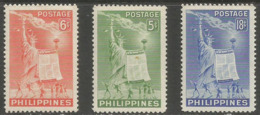 Philippines - 1951 Human Rights Day  MNH **   Sc 572-4 - Philippines
