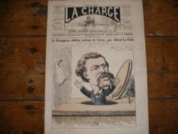 - JOURNAL, LA CHARGE Du 13 Octobre 1889, 2 Pages, TBE - Periódicos