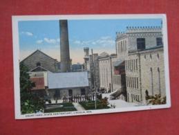 Court Yard State Penitentiary Lincoln Nebraska  Ref 3610 - Prigione E Prigionieri