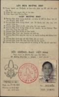 Carte De Scout Scoutisme Cachet Vietnam Viet Nam Hôi Huong Dao 1967 1968  Saigon - Cartes