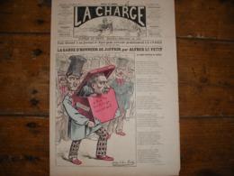 - JOURNAL, LA CHARGE Du 17 Novembre 1889, 2 Pages, TBE - Periódicos