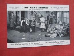 The Male Animal  With Elliott Nugent     Ref 3610 - Theatre