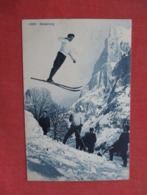 Skisprung Switzland Stamp & Cancel   Ref 3610 - Winter Sports