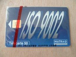 TELECARTE  NEUVE SOUS BLISTER MATRA ISO 9002  05/95  2500 EX - France