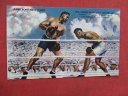 Jack Dempsey Knocks Out Jess Willard   Chrome Type   Ref 3610 - Boxing