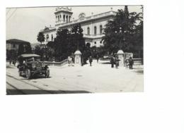 821 - MONTECATINI TERME PISTOIA CARTOLINA DA FOTO 1940 CIRCA ANIMATA AUTOMOBILE - Pistoia