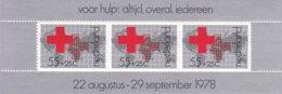 Nederland/Netherlands/Pays Bas/Niederlande 1978 Blokje Rode Kruis, Red Cross NVPH 1164 MNH** - Blocchi