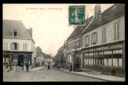 28 - LA LOUPE - RUE DE CHARTRES - CAFE DU COMMERCE - La Loupe