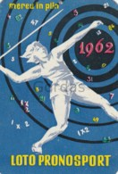 Romania - Lottery - Calendar - Advertise - 1962 - 60x90mm - Calendars