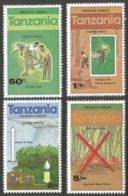 Tanzania. 1979 Forest Preservation. MNH Complete Set. SG 270-273 - Tanzania (1964-...)