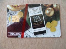 TELECARTE  NEUVE SOUS BLISTER CHOCOLAT  LINDT 10/94 6000 EX - France