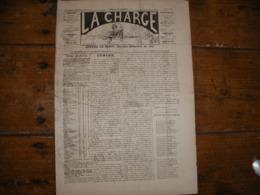 - JOURNAL, LA CHARGE Du Février 1890, 2 Pages, BE - Periódicos