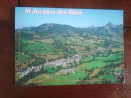 15 - Saint Jacques Des Blats - Vue Générale - Au Loin Le Puy Griou - Frankreich