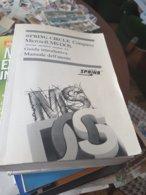 VECCHIO LIBRO ISTRUZIONI MS DOS - Libri, Riviste, Fumetti