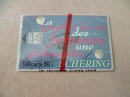 TELECARTE  NEUVE SOUS BLISTER  SCHERING  12/94  5500 EX - France