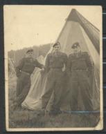 Militaria à KEERBERGEN 1953  Photo Originale - Guerre, Militaire