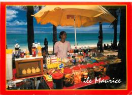 Ile Maurice - Mauritius - Marchant Ambulant à Mont Choisy - Moderne Grand Format - état - Maurice